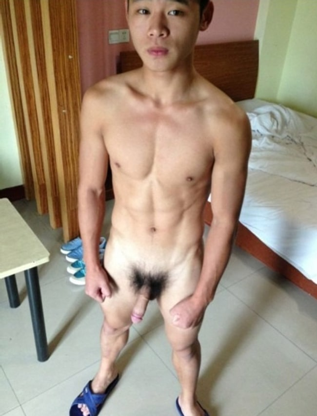 Cute Nude Asian Boy