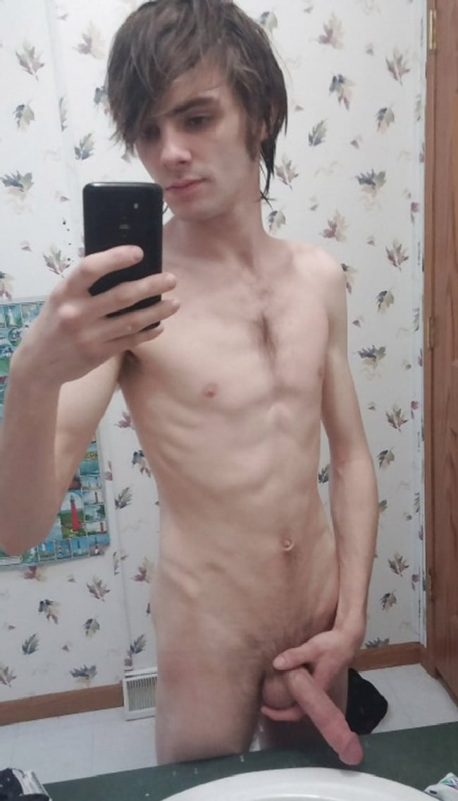 young naked anorexic guy