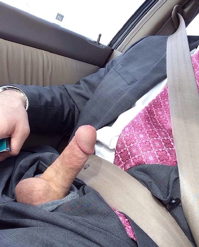 Boy flashing his dick in car 3