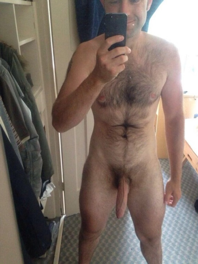Hairy Man With Big Cock