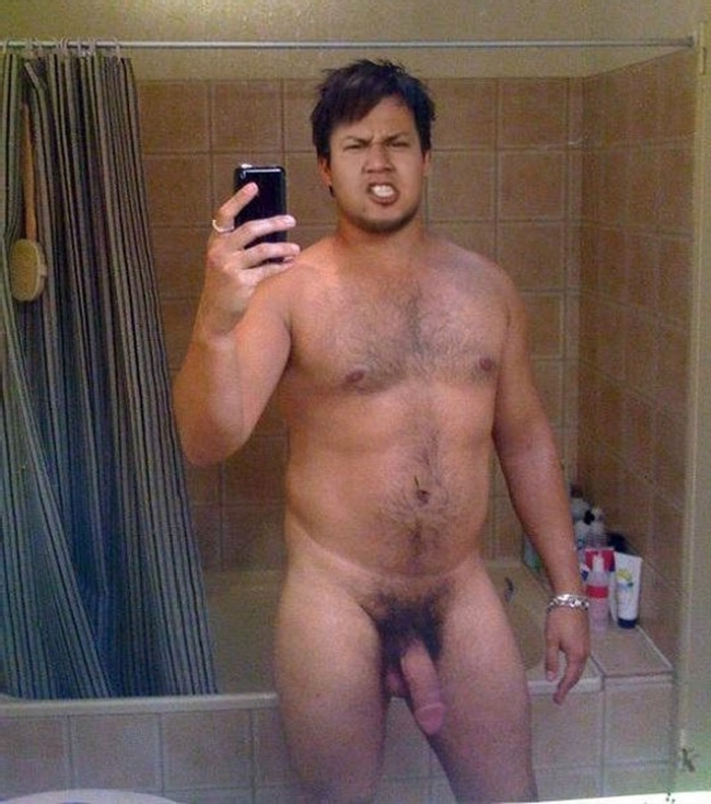 Nude Man With Lots Of Cock Hair - Nude Man Post
