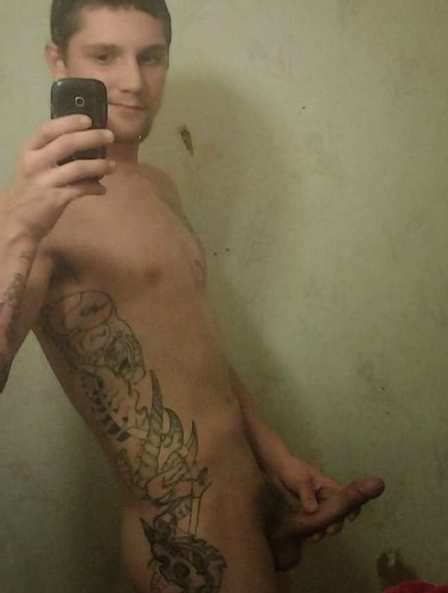 Nude Tattooed Guy