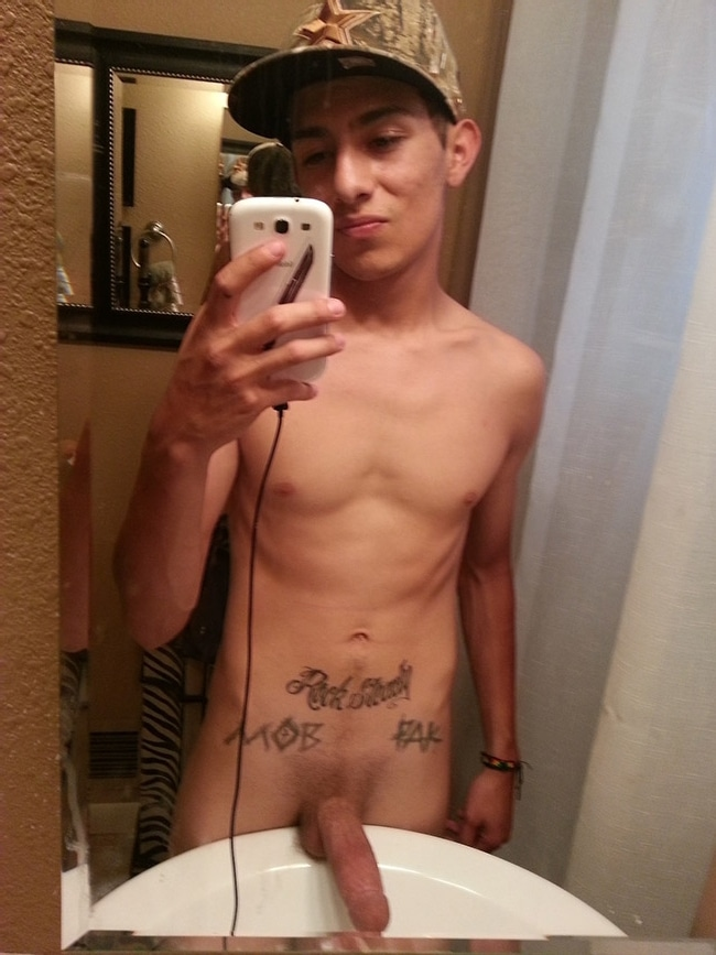Skinny Boy With Boner